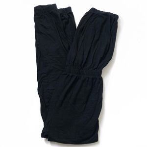 AMERICAN APPAREL Black Tube Jumpsuit